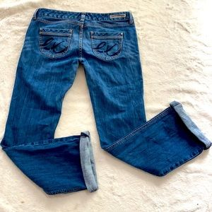 Express blue jeans 8r